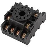ATC Automatic Timing & Controls PF113A 11-Pin DIN-Rail/Surface-Mounted Socket