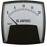 Crompton Instruments 012/013 Saxon Analog Panel Meters - DC Ammeters