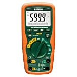 Extech Instruments EX520 Digital Multimeter - 11-Function Heavy Duty 6000-Count True-RMS