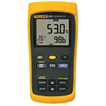 Fluke Electronics FLUKE-53-2B Single Input Digital Thermometer w/USB Recording -418-3212°F (-250-1767°C)