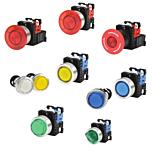 Fuji Electric AR22 22mm Illuminated Pushbutton Switches