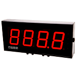 Laurel Electronics Magna Series Large Digit Display - 4-Digit RTD Meter
