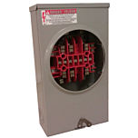 Milbank UC7237-XL Meter Enclosure - 13-Terminal, Transformer-rated w/Bypass