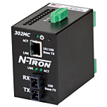 N-Tron 302MC-N Unmanaged Media Converter w/Monitoring