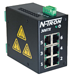 N-Tron 306TX-N Unmanaged Ethernet Switch w/Monitoring