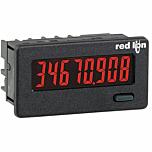 Red Lion Controls CUB4L820 8-Digit Digital Counter w/Red Backlit LED Display