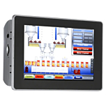 "Red Lion Controls G09 Graphite - Operator Interface w/9"" Rugged Touchscreen Display"