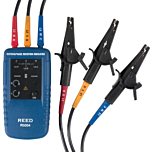 Reed Instruments R5004 3-Phase Motor Rotation & Phase Tester