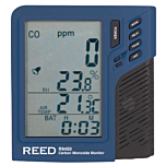 Reed Instruments R9450-NIST Carbon Monoxide Monitor w/Temp & Humidity & NIST Calibration