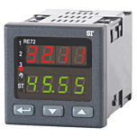Sifam Tinsley RE72 PID Controller - Temp/RTD, Process w/Analog & Relay Outputs