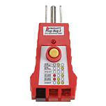 Triplett 9610 Plug-Bug 2 GFCI Receptacle Tester
