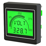 Trumeter APM-MAX M21-PU-4B Advanced Panel Meter with Large Display for Volts