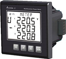Accuenergy Acuvim-AL Multifunction Power Meter Acuvim-AL-D-60-5A-P1, Acuvim-AL-D-60-1A-P1, Acuvim-AL-D-6O-333-P1, Acuvim-AL-D-60-5A-P2, Acuvim-AL-D-60-1A-P2, Acuvim-AL-D-60-333-P2