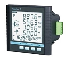 Accuenergy Acuvim-IIW Intelligent Power Meter (Web Accessible) w/Datalogging, Waveform Capture & PQ Logging