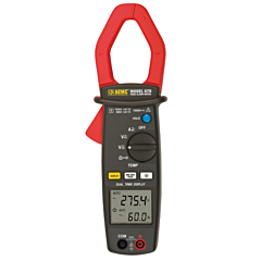 AEMC Instruments 2117.49 - 670 Clamp-on Multimeter w/Dual Display - 1000 ACA, 1000 AC/DCV, Cont, Res, Freq & Temp, True-RMS