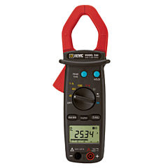 AEMC Instruments 2117.70 - 514 Clamp-on Multimeter - 1000 AC/DCA, 600 AC/DCV, Ohms, Continuity, True-RMS