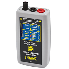 AEMC Instruments 2126.35 - L562 Dual-Channel True-RMS Voltage/Current Data Logger