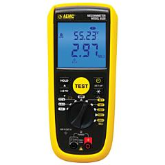 AEMC Instruments 2126.55 - 6529 Digital Megohmmeter - 50/100/250/500/1000V w/PI & DAR Functions