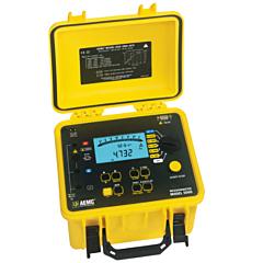 AEMC Instruments 2130.21 - 5060 Digital/Analog Megohmmeter - 5000V w/Backlight, Alarm, Timer, Auto DAR/PI/DD & Software