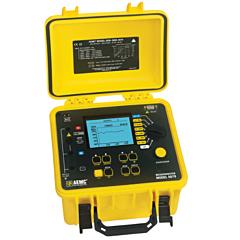 AEMC Instruments 2130.30 - 5070 Digital/Analog Graphical Megohmmeter - 5000V w/Backlight, Alarm, Timer, Auto DAR/PI/DD, Ramp & DataView Softwa