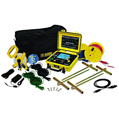 AEMC Instruments 2135.04 - 6470-B 3 & 4 Point Digital Ground Resistance Tester