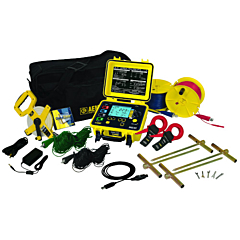 AEMC Instruments 2135.50 - 6471 3 & 4 Point Digital Ground Resistance Tester