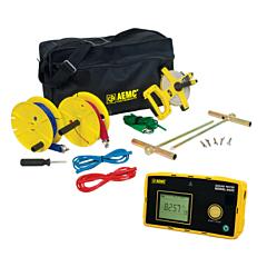 AEMC Instruments 2135.56 - 6422 3-Point Digital Ground Resistance Tester - 50k Ohm w/150 ft KIT
