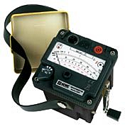 AEMC Instruments 2126.51 - 6501 Hand-Crank Analog Megohmmeter - 500V