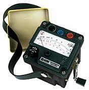 AEMC Instruments 2126.52 - 6503 Hand-Crank Analog Megohmmeter - 1000V