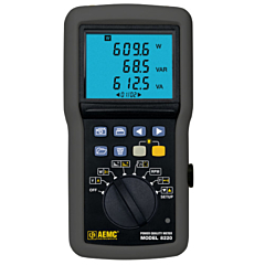 AEMC Instruments 8220 Single-Phase Power Quality Analyzer
