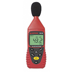 Amprobe Instruments SM-20A Sound Level Meter - 30-130 dB Range w/Memory