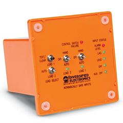 ATC Diversified ARM-120-AFE-P Duplexor Alternating Controller w/Intrinsically Safe inputs - 120 ACV, SPST, Panel Mount
