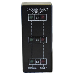 ATC Diversified GFD-100 3-Phase Ground Fault Display - Vertical Mount