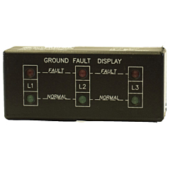 ATC Diversified GFD-200 3-Phase Ground Fault Display - Horizontal Mount