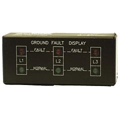 ATC Diversified GFD-200 3-Phase Ground Fault Display - Horizontal Mount