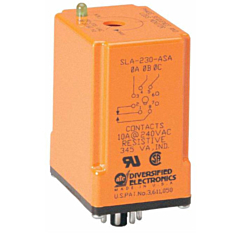 ATC Diversified SLA Series 3-Phase Universal Phase Monitoring Relays - Plug-in Style