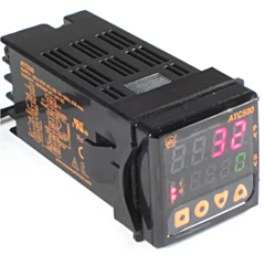 ATC Automatic Timing & Controls ATC500200400 1/16 DIN PID Controller w/4-20mA & Relay Outputs & RS485