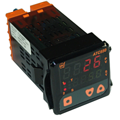 ATC Automatic Timing & Controls ATC550S00000 1/16 DIN ON/OFF PID Controller w/Relay Output