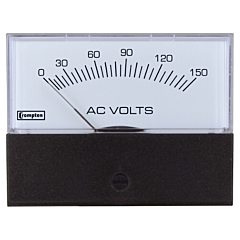 Crompton Instruments 362/363/364 Challenger Analog Panel Meters - AC Volt Meters