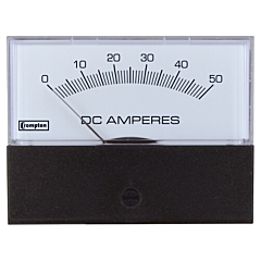 Crompton Instruments 362/363/364 Challenger Analog Panel Meters - DC Ammeters