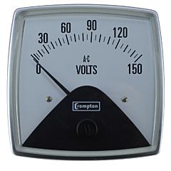 Crompton Instruments 016 Fiesta Analog Panel Meters - AC Volt Meters