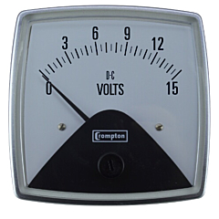Crompton Instruments 016 Fiesta Analog Panel Meters - DC Volt Meters