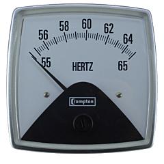 Crompton Instruments 016 Fiesta Series Analog Panel Meters - Frequency Meters