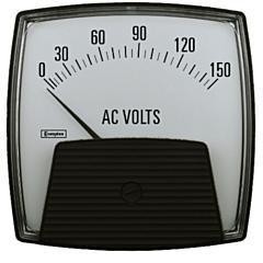 Crompton Instruments 012/013 Saxon Analog Panel Meters - AC Volt Meters