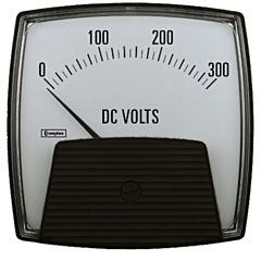 Crompton Instruments 012/013 Saxon Analog Panel Meters - DC Volt Meters