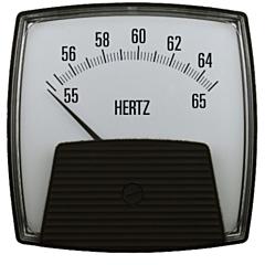 Crompton Instruments 012/013 Saxon Analog Panel Meters - Frequency Meters
