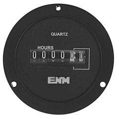 ENM Instruments T55B2A - Elapsed Time Meter - 6-Digit, 115 ACV, Non-Resettable, Hours