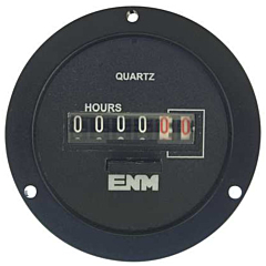 ENM Instruments T55A2A - Elapsed Time Meter - 6-Digit, 115 ACV, Resettable, Hours