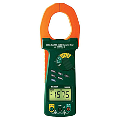 Extech Instruments 380926 Clamp-on Multimeter - 2000A AC/DC True-RMS