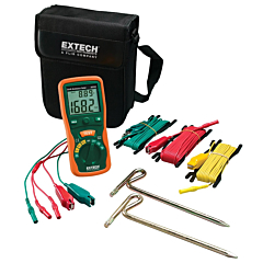 Extech Instruments 382252 Earth Ground Resistance Tester Kit - 20Ohm/200Ohm/2000Ohm